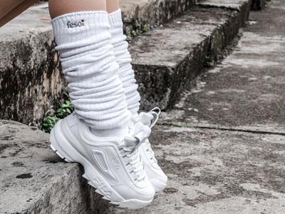 slouch-socks-fila-disruptor